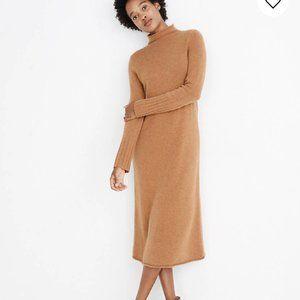 Madewell Cashmere Midi Dress XS Petite